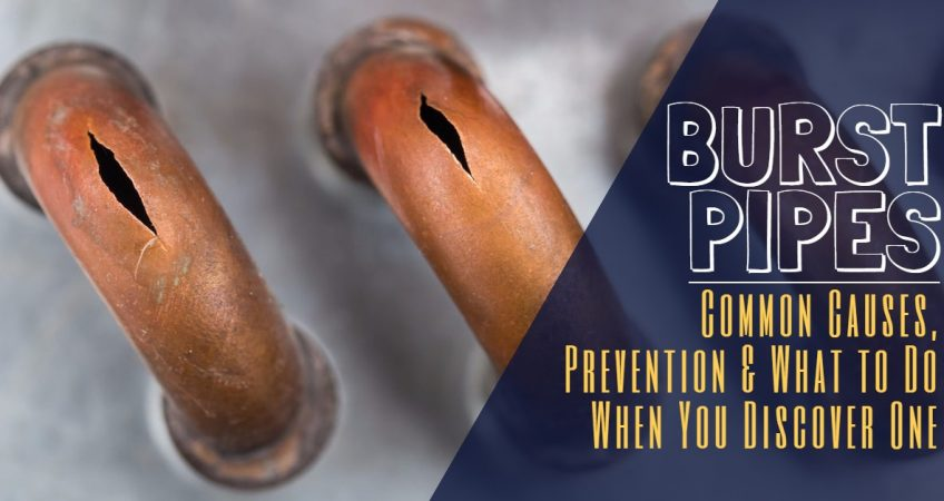 Burst Pipes: Common Causes, Prevention & What to Do When You Discover One