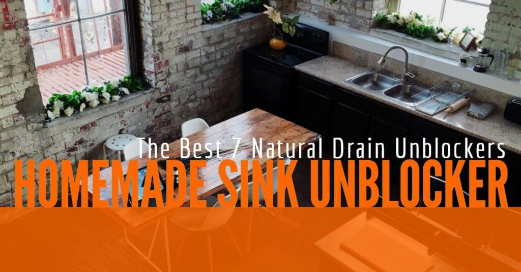 Natural Sink Unblocker: The Best Homemade Drain Unblockers