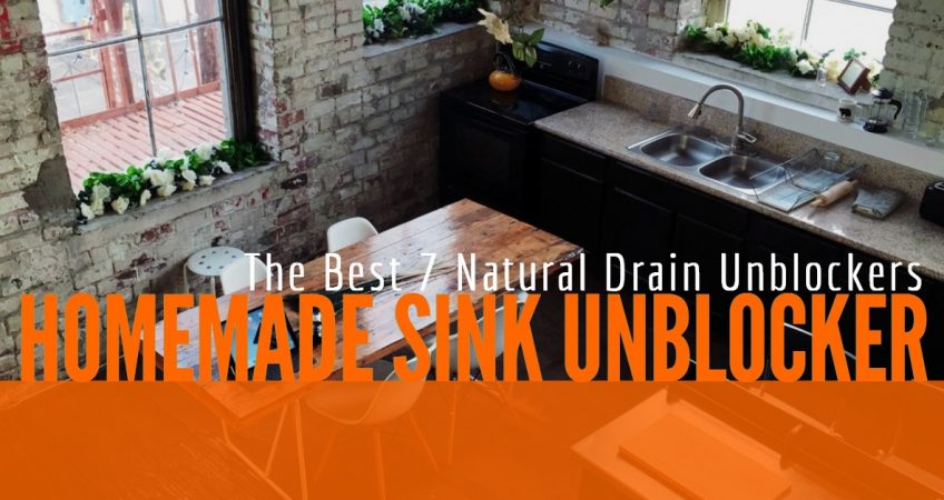 Homemade Sink Unblocker: The Best 7 Natural Drain Unblockers