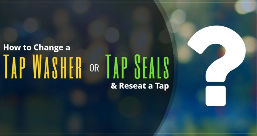 How to Change a Tap Washer or Tap Seals & Reseat a Tap