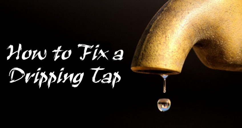 How to Fix a Dripping Tap - How to Fix a Leaking Tap Handle