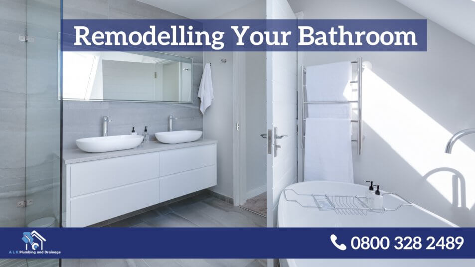 Remodeling Your Bathroom Infographic ALK Plumbing Drainage Blog Impressive Bathroom Plumbing Installation Remodelling