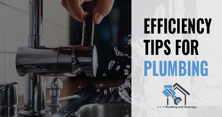 plumbing efficiiency tips